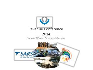 Revenue Conference  2014