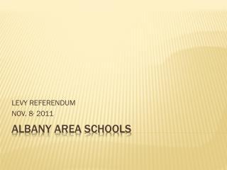 Albany Area Schools