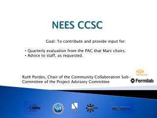 NEES CCSC