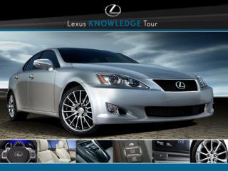 Lexus Seating, SmartAccess and  Lighting Technologies
