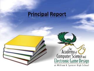 Principal Report