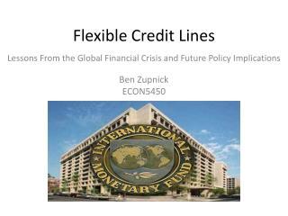 Flexible Credit Lines