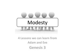 4 Lessons we can learn from  Adam and Eve  Genesis 3