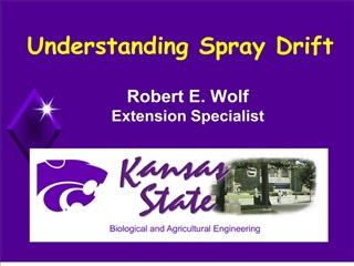Understanding Spray Drift
