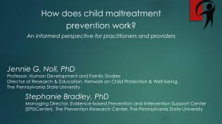 How does child maltreatment  prevention work?