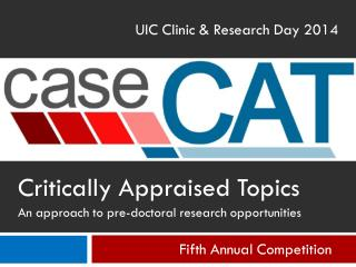 UIC Clinic & Research Day 2014
