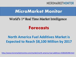 North America Fuel Additives Market by 2019