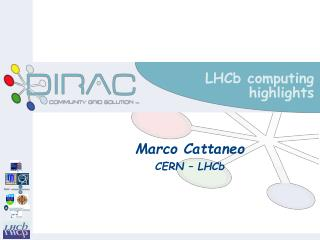LHCb computing highlights