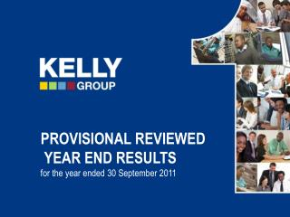 PROVISIONAL REVIEWED  YEAR END RESULTS