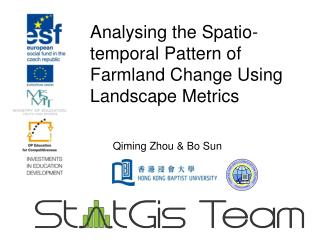 Analysing the  Spatio -temporal Pattern of Farmland Change Using Landscape Metrics