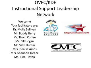OVEC/KDE Instructional Support Leadership Network