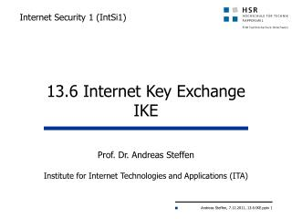 Internet  Security 1  ( IntSi1)