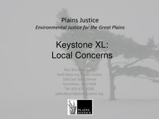 Plains Justice  Environmental Justice for the Great Plains