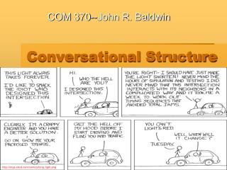 Conversational Structure