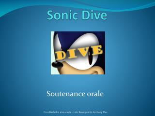 Sonic Dive