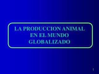 LA AGRICULTURA Y LA CADENA DE PRODUCCI N DE ALIMENTOS