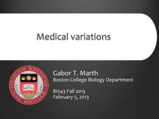 Medical variations