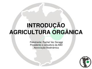 INTRODU  O AGRICULTURA ORG NICA