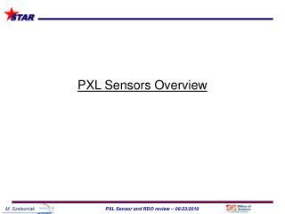 PXL Sensors Overview