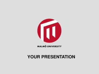 Your Presentation