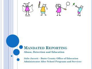 Mandated Reporting