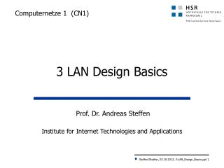 Computernetze 1  (CN1)