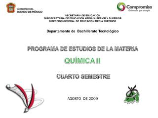 SECRETAR�A DE EDUCACI�N SUBSECRETAR�A DE EDUCACI�N MEDIA SUPERIOR Y SUPERIOR