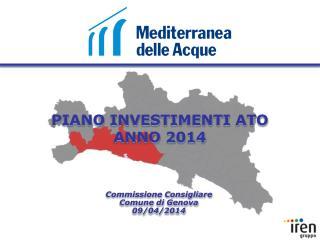 PIANO INVESTIMENTI ATO ANNO 2014