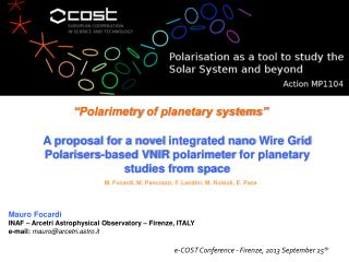 A  proposal for a novel  integrated  nano  Wire Grid