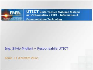 Roma  11 dicembre 2012