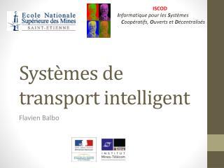 Systèmes de transport intelligent