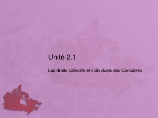 Unité 2.1