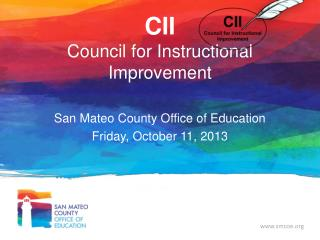 CII Council for Instructional Improvement