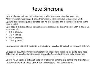 Rete Sincrona