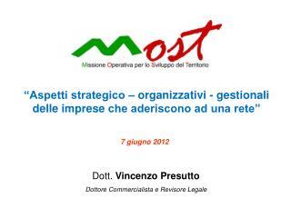 Dott.  Vincenzo  Presutto