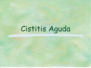 Cistitis Aguda
