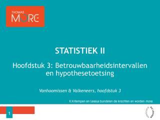 Statistiek II