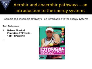 Aerobic and anaerobic pathways – an introduction to the energy systems