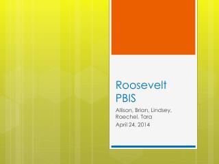 Roosevelt PBIS
