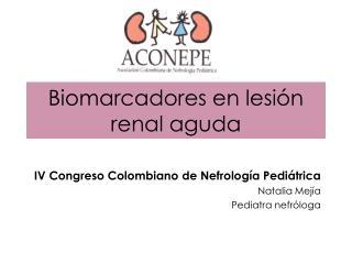Biomarcadores en lesi n renal aguda