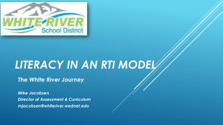 Literacy in an RTI Model