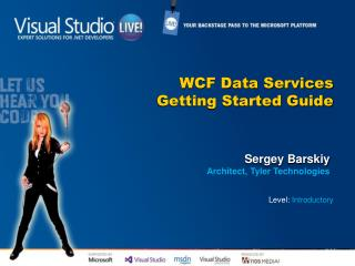 WCF Data Services Getting Started Guide