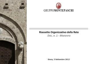 Siena ,  3 Settembre 2012