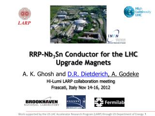 RRP-Nb 3 Sn Conductor for the LHC Upgrade Magnets