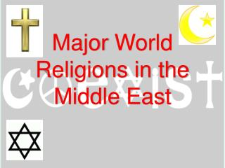 Major World Religions in the Middle East