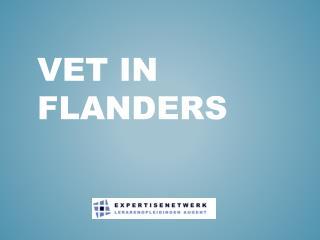 VET in  flanders