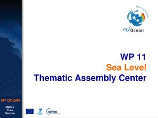 WP 11 Sea Level Thematic Assembly  Center