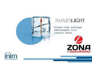 Single Loop Analogue addressable fire control Panel