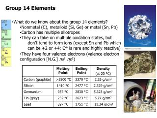 Group 14 Elements
