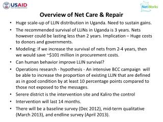 Overview  of Net Care & Repair
